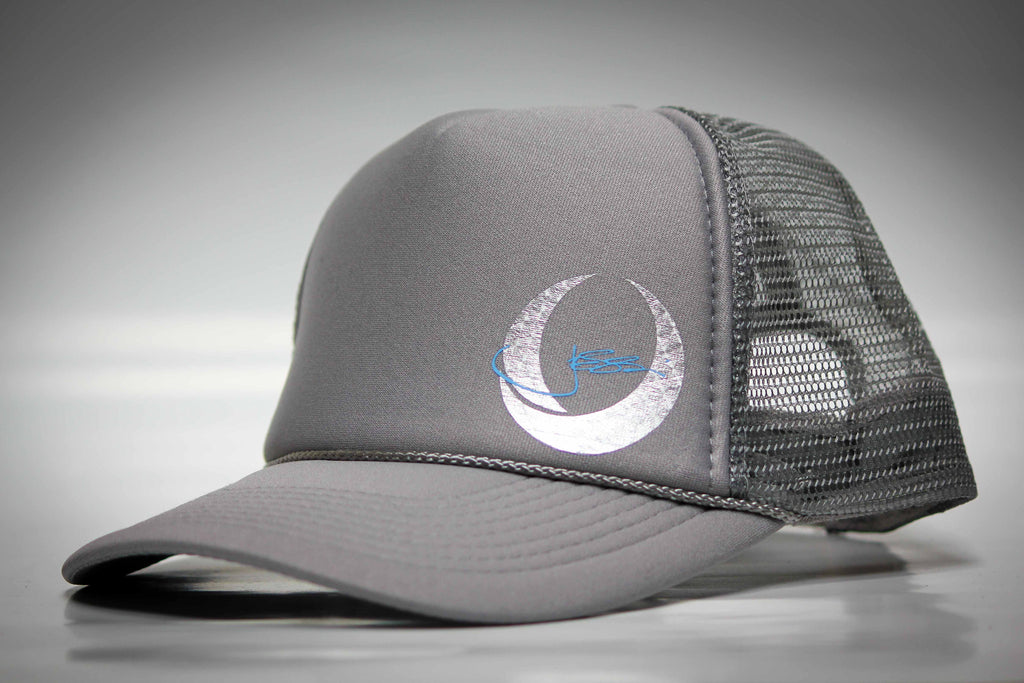 Engine Turn Trucker Hat