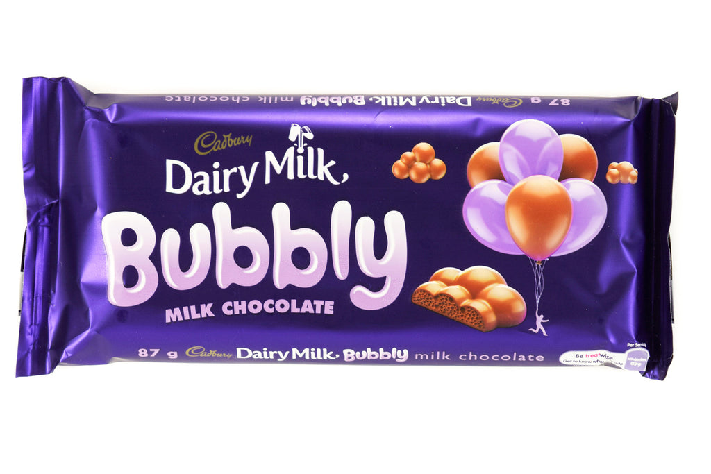 Cadbury Bubbly Dairy Milk 87g