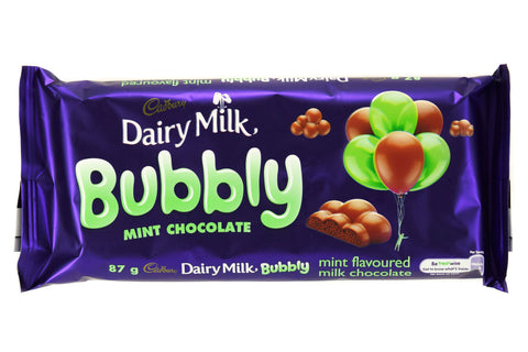 Cadbury Bubbly Mint 87g