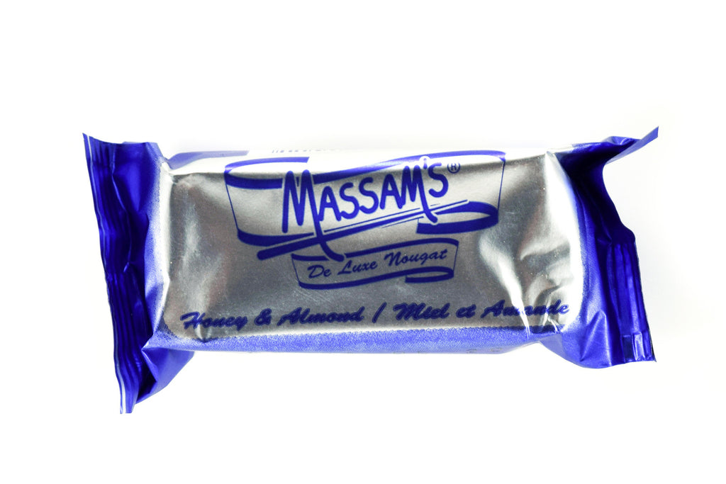 Massam's Honey and Almond Nougat 25g
