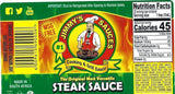 Jimmy's Steak Sauce Original 12.7 fl oz (375ml) - MSG Free