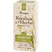 Annique Rooibos and Herbs -  Metabolism 50g (20 sachets)