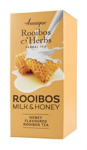 Rooibos Milk and Honey - Honey Flavored Rooibos Tea (20 sachets)