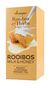 Rooibos Milk and Honey - Nougat Flavored Rooibos Tea (20 sachets)