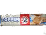 Bakers Toppers Vanilla Cream Biscuits