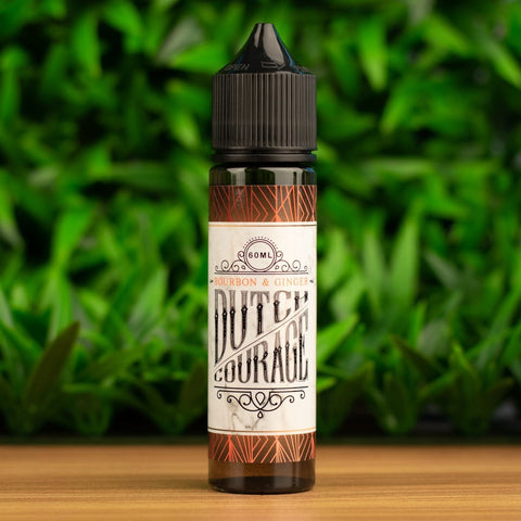Dutch Courage - Bourbon and Ginger | Vape Juice | Premium E-liquid | Australia