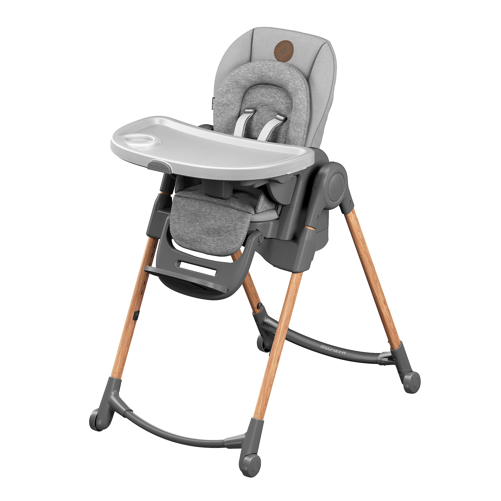Minla High Chair - Essential Graphite