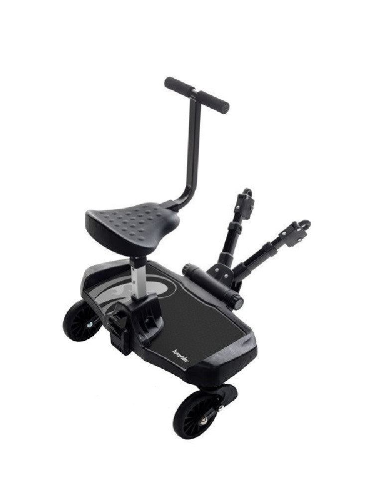Connect Stroller - Black + Ride on board with seat