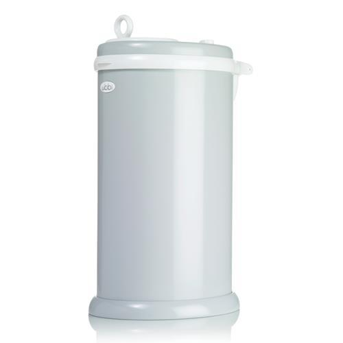 Steel Diaper Bin- Grey