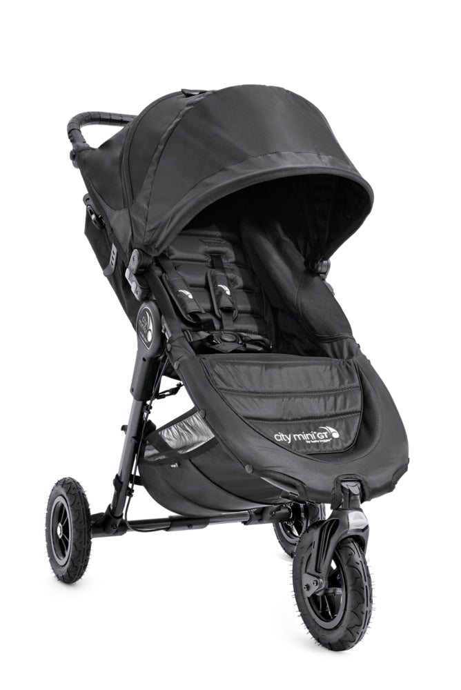 City Mini GT Stroller Black + Snack Tray