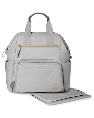 Mainframe Backpack Diaper Bag - Cement Grey