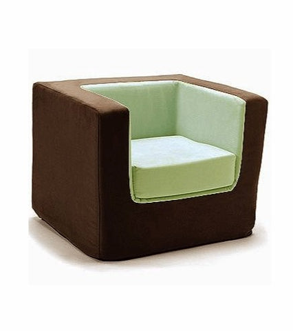 Cubino Chair - Brown/Green