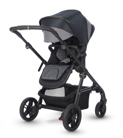 Coast Stroller Chassis+ Toddler Seat + Diaper Bag + Footmuff- Flint