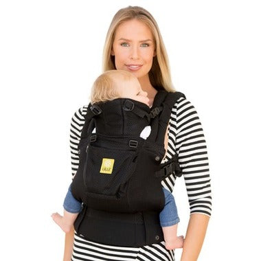 Complete Airflow Baby Carrier Black