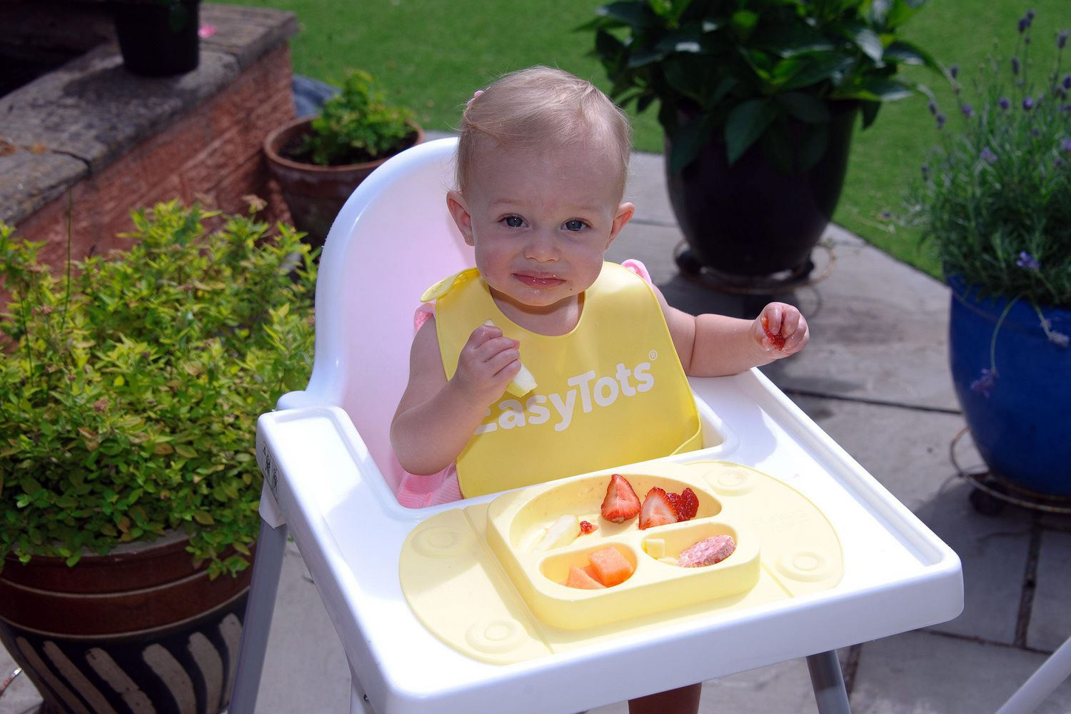 Mini Portable Baby Suction Plate - Buttercup