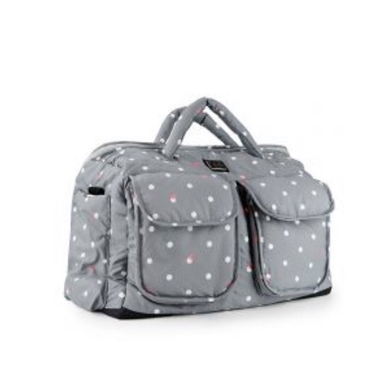 Voyage Diaper Bag Small- Grey Dots (New in Box)