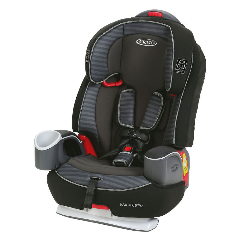 Nautilus 65 3-in-1 Harness Booster Car Seat in Grey