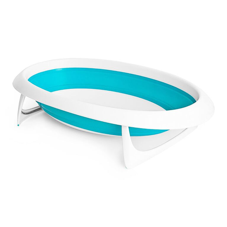 Naked Collapsible Baby Bathtub - Blue