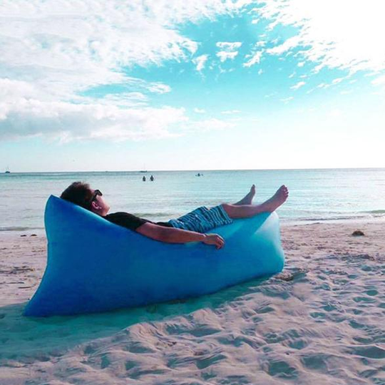 Inflatable Recliner - Blue