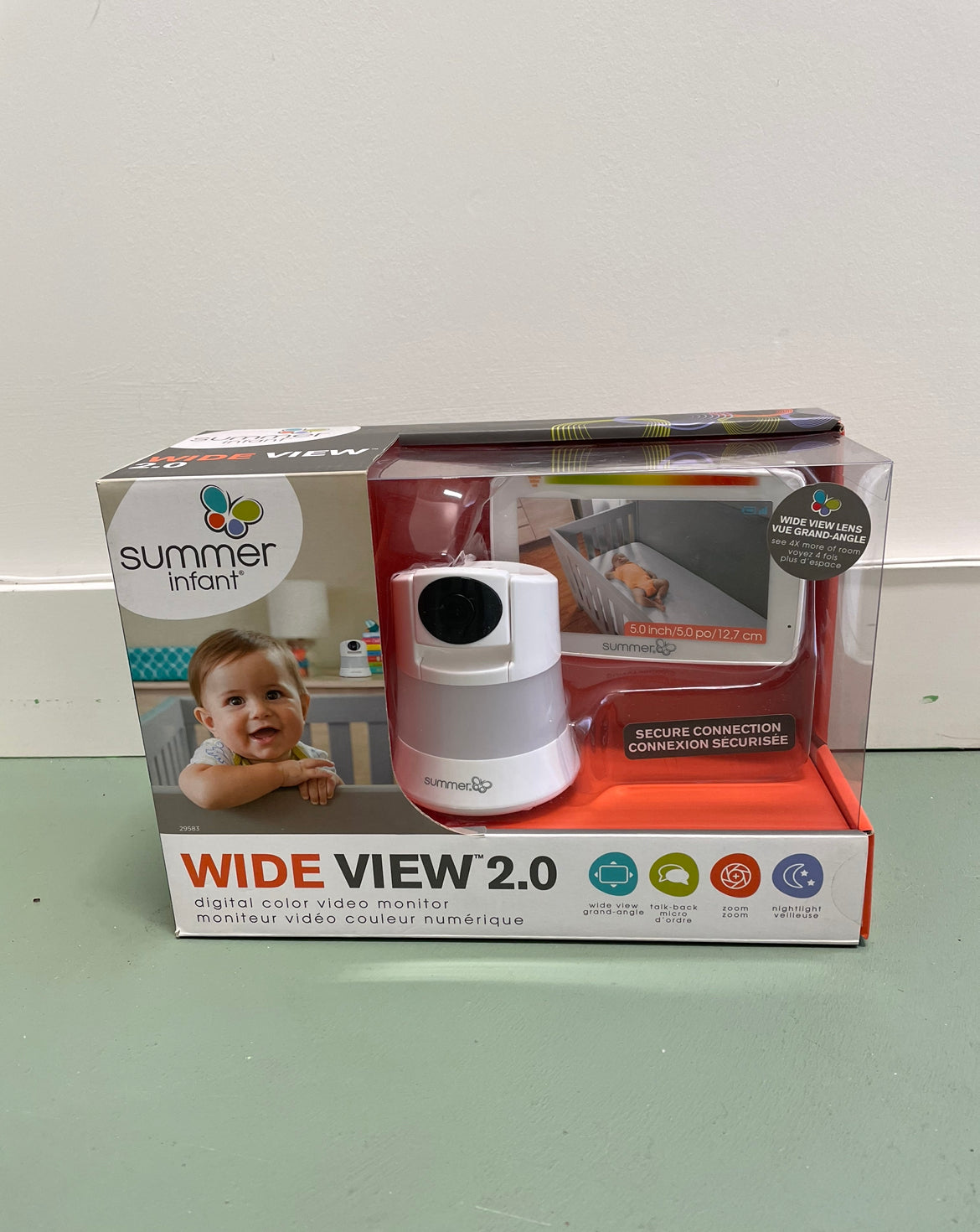 Wide View 2.0 Digital Colour Video Monitor