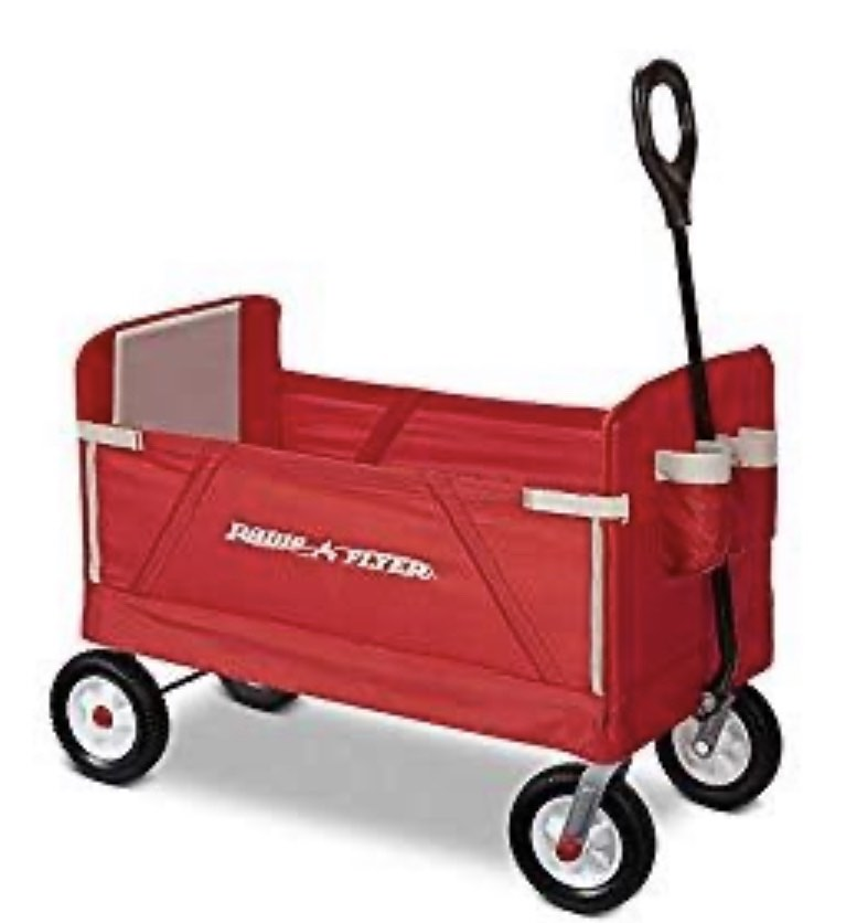 3 in 1 Off Road EZ Fold Wagon (New Open Box)