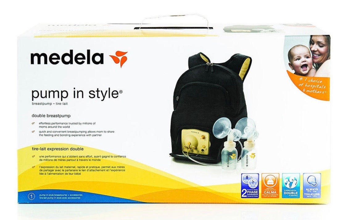 Pump In Style Double Electric Pump In Backpack