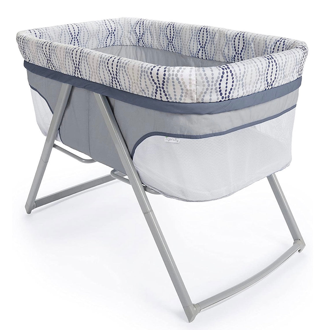 FoldAway Rocking Bassinet- Fletcher