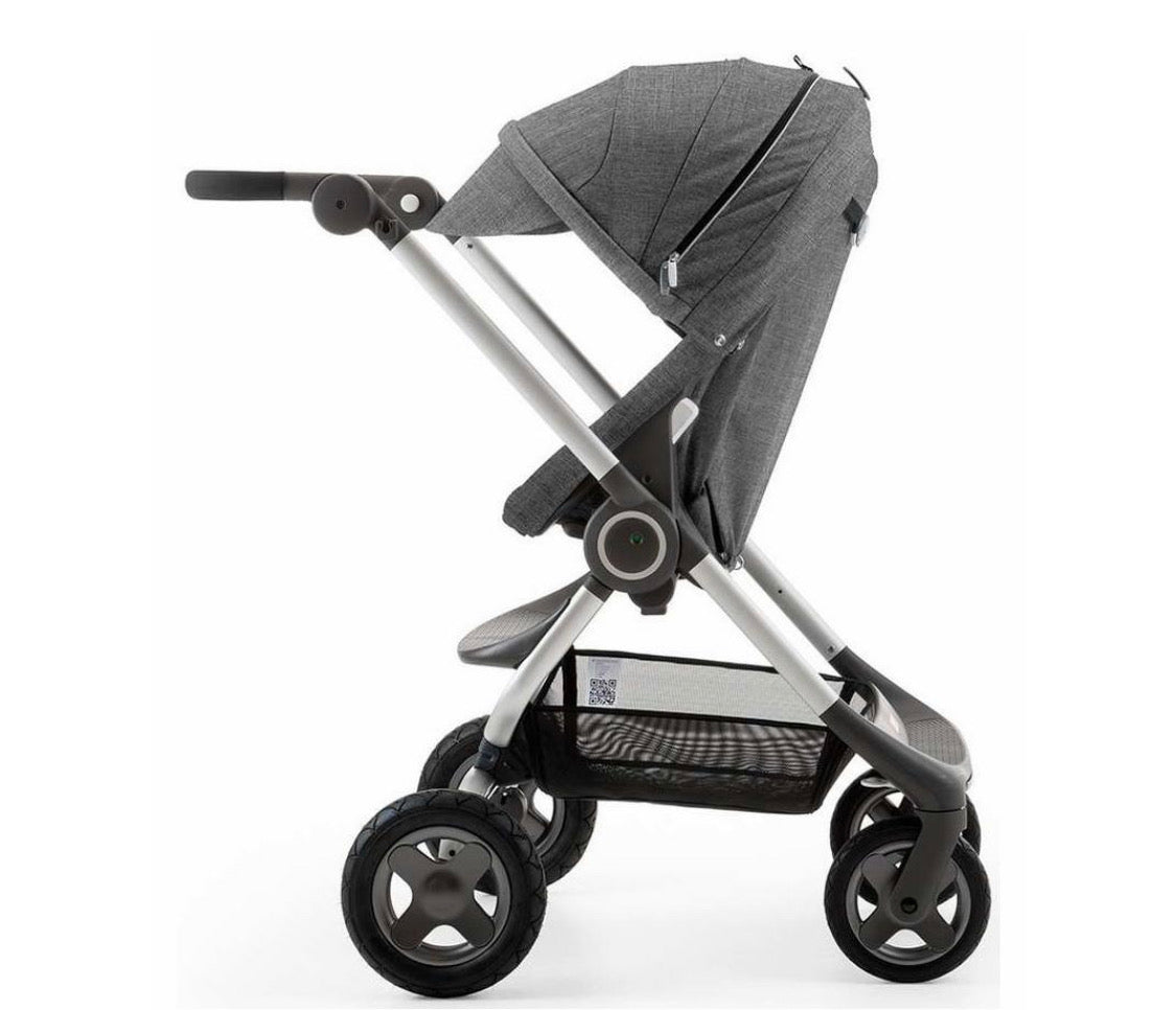 Scoot Stroller + Umbrella + Newborn Insert