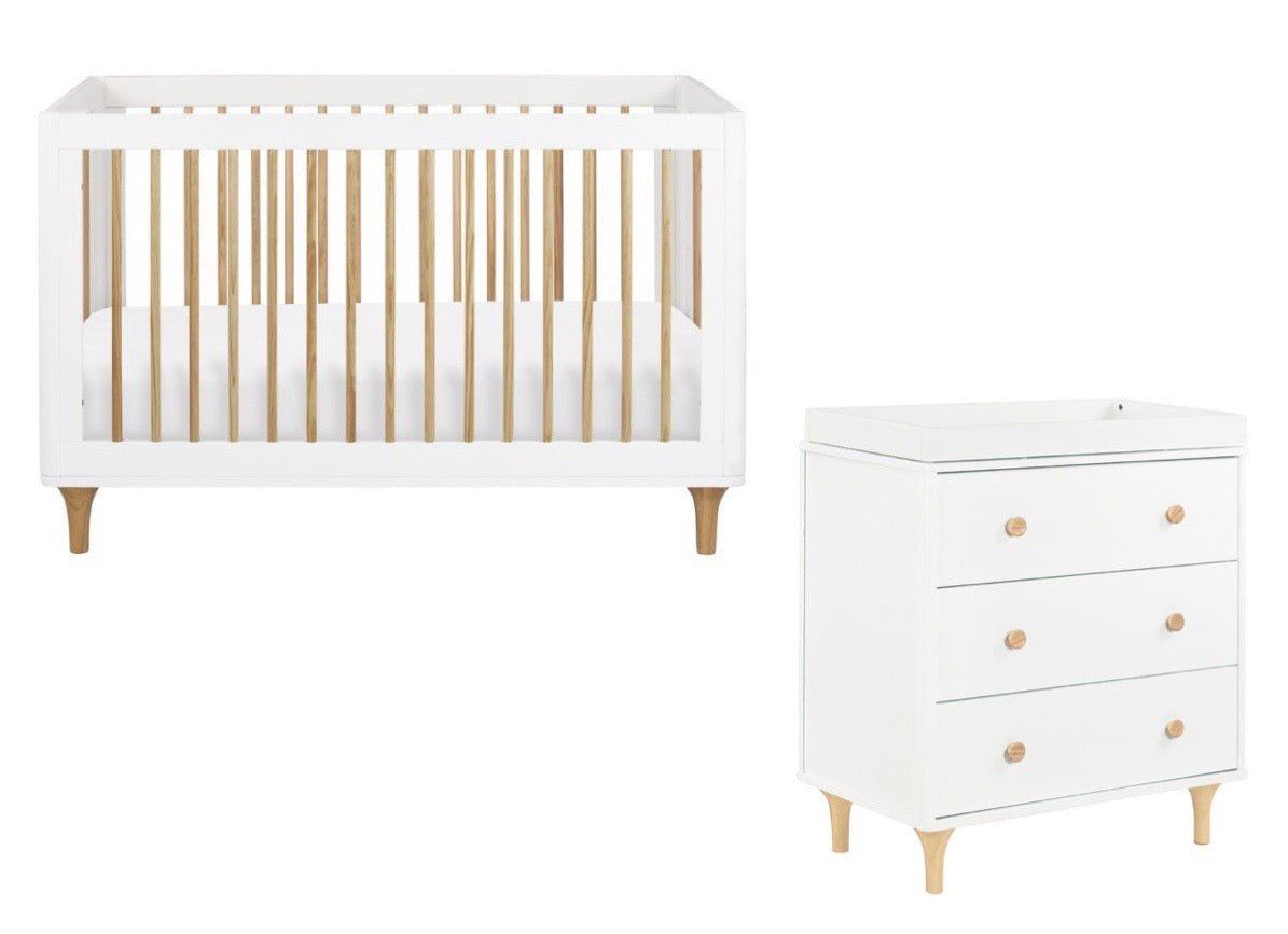 Lolly Crib + Changer Dresser