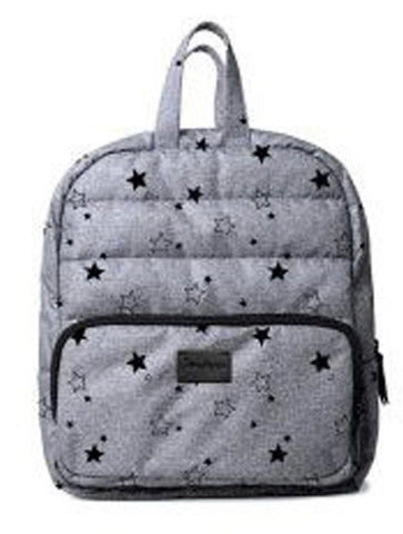 Mini Backpack- Grey Star