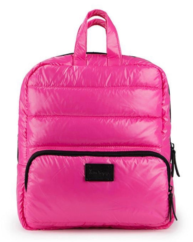 Mini Backpack- Hot Pink
