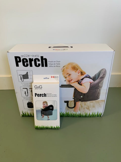 Perch Hanging High Chair + Seat Liner