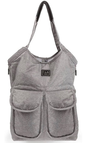 Barcelona Diaper Bag- Grey
