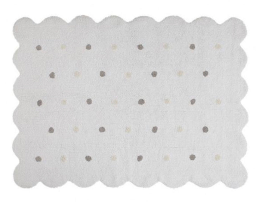 Washable Rug- Biscuit White
