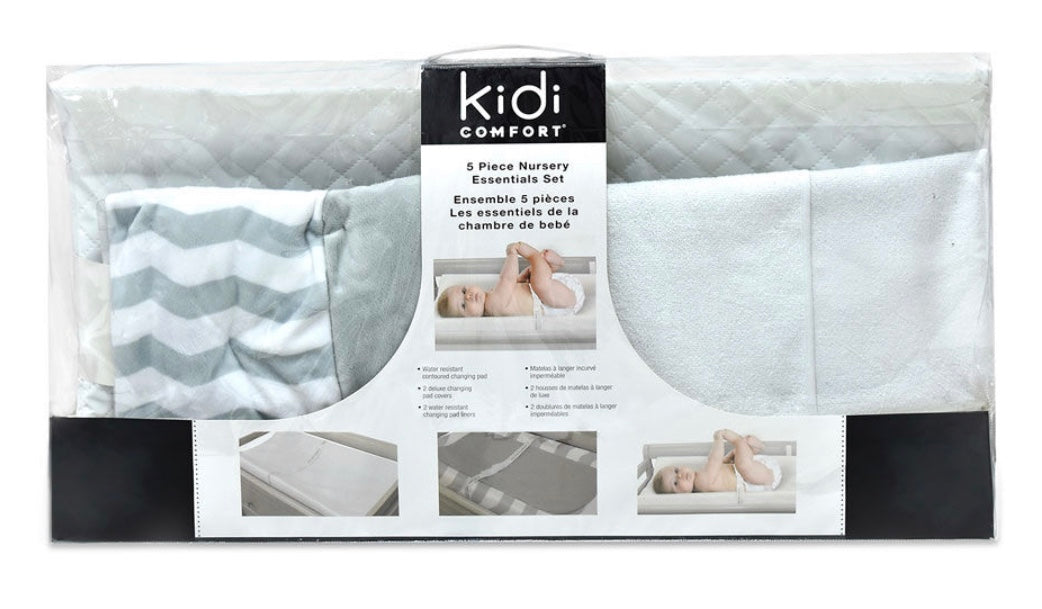 5 Piece Nursery Essentials Set