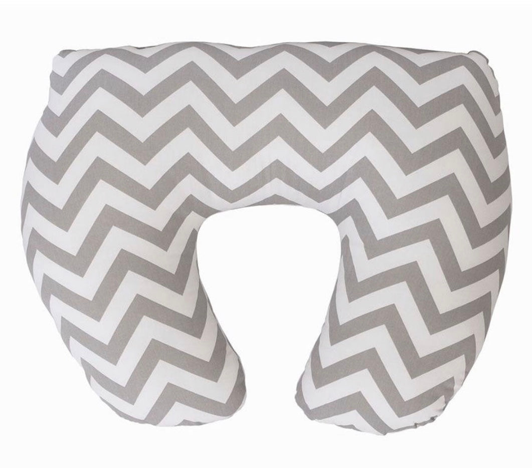 Baby Sitter Nursing Cushion - Grey Chevron