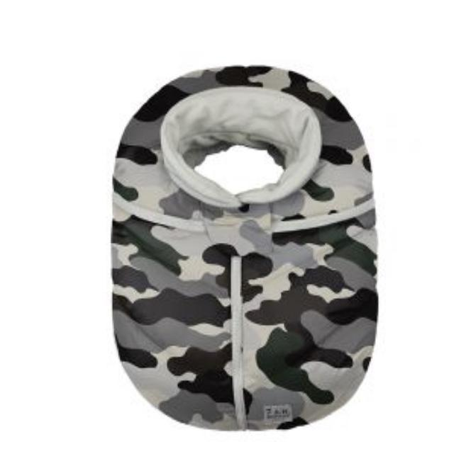 Car Seat Cocoon - Camo Forest
