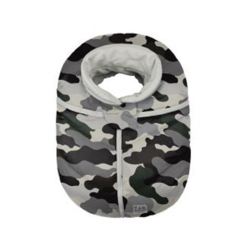 Car Seat Cocoon - Camo Forest (NEW IN BOX)