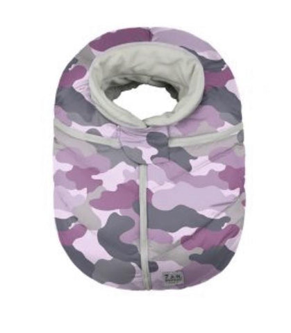 Car Seat Cocoon - Pink Camo (NEW IN BOX)