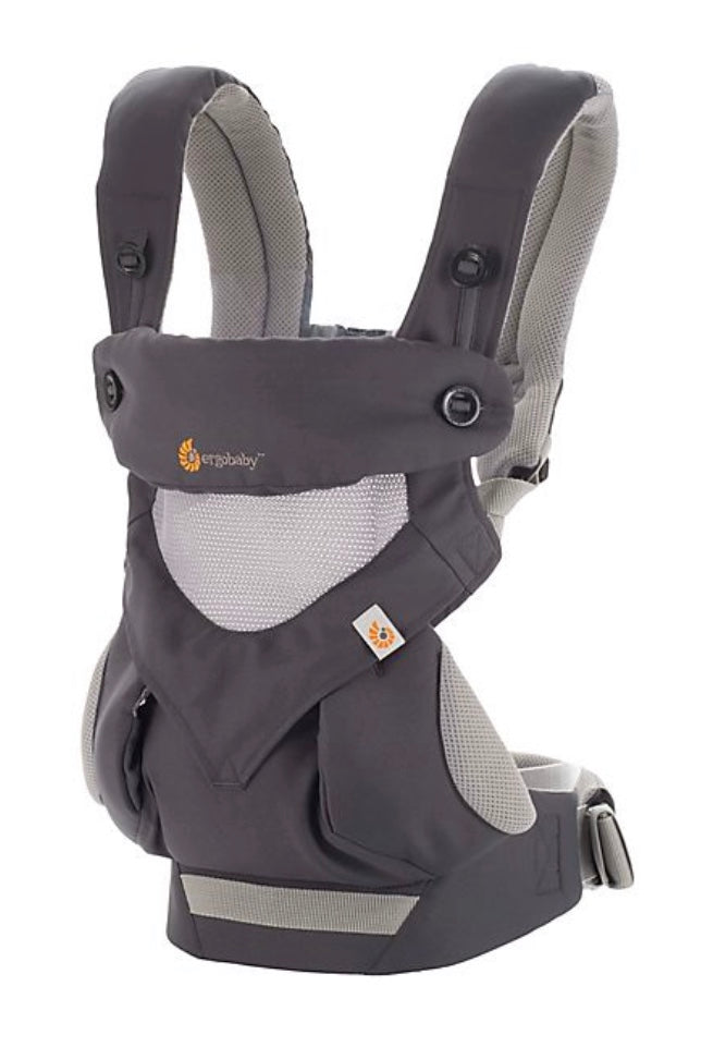 360 Cool All Positions Cool Air Mesh Carrier -Carbon Grey