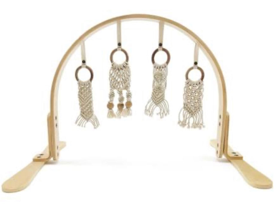 Macrame Play Gym- Birch