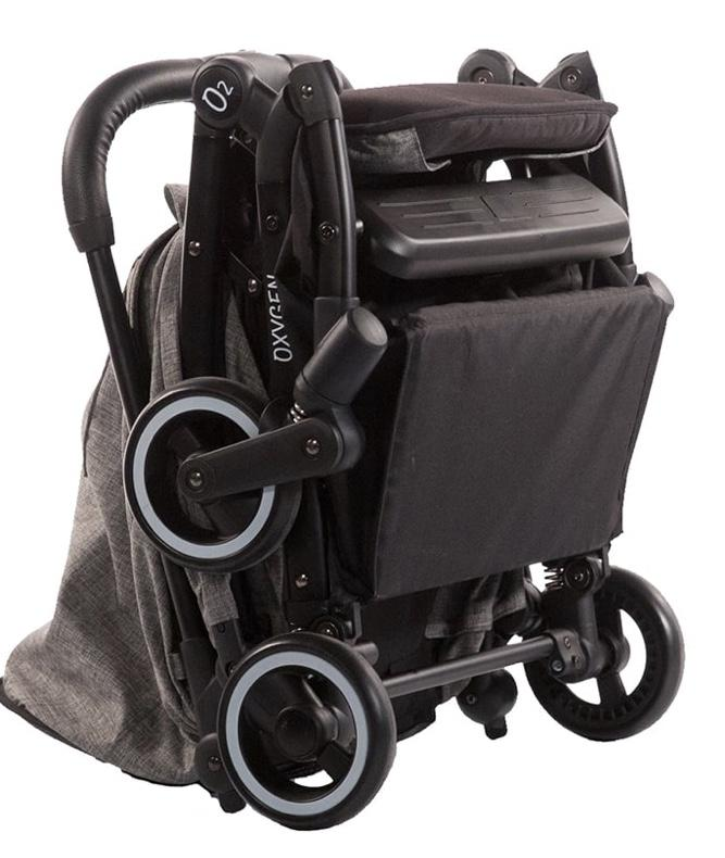 Oxygen Stroller Raven (New,  Open Box)