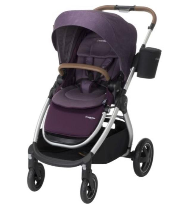 Adorra Stand Alone Stroller- Purple (New, Open Box)