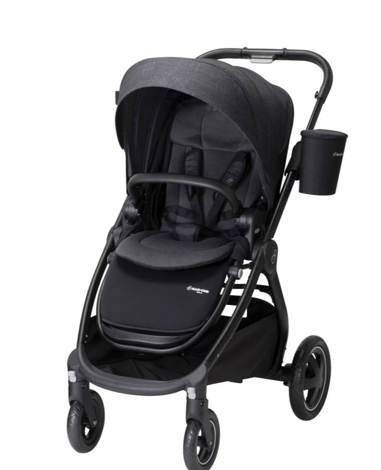 Adorra Stand Alone Stroller- Nomad Black (New, Open Box)