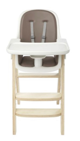 Sprout Adjustable High Chair- Taupe/Birch (New, Open Box)