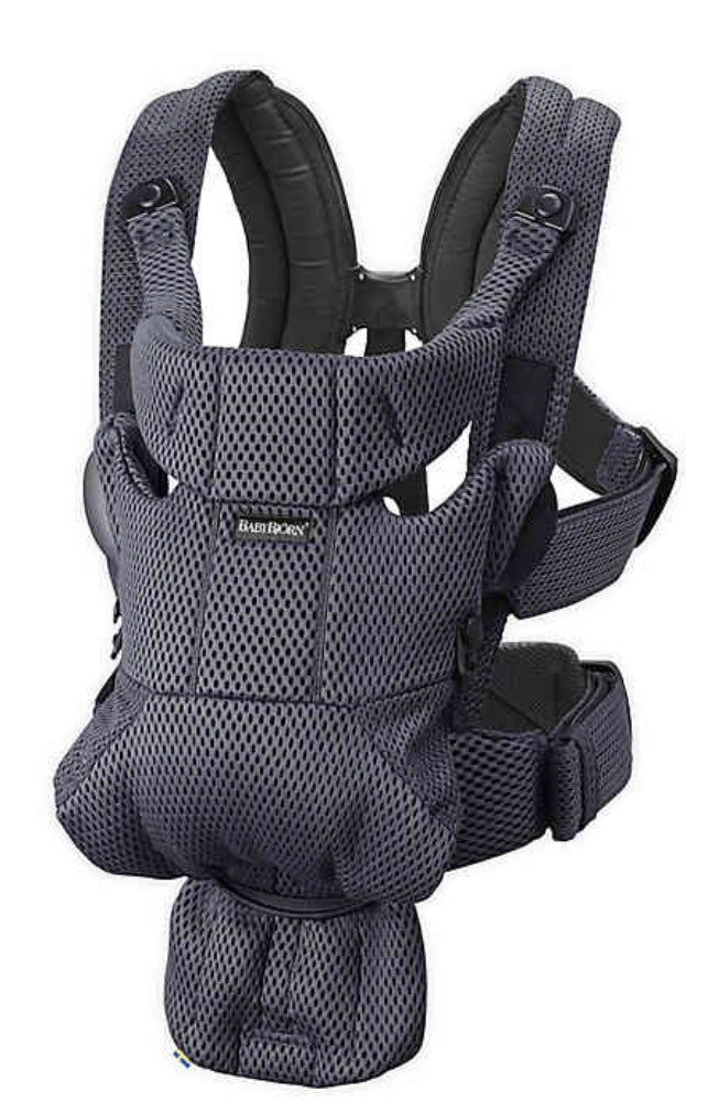 Baby Carrier Free Mesh- Black
