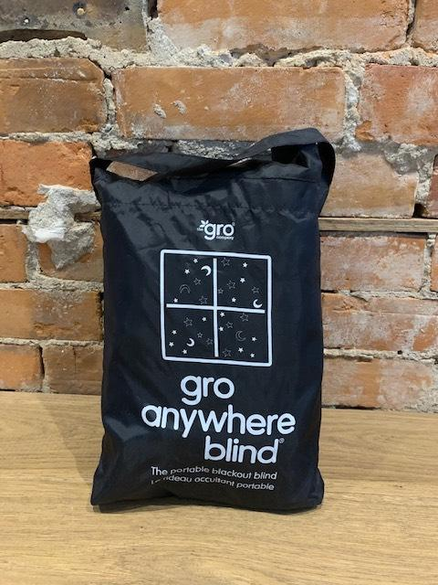 GRO ANYWHERE BLACKOUT BLIND (New, Open Box)