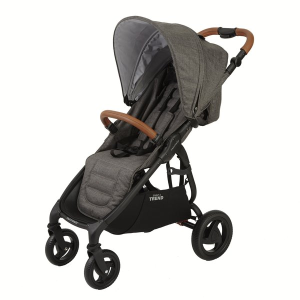 Snap4 Trend Stroller- Charcoal + Universal Hitch Hiker +  Rain Cover