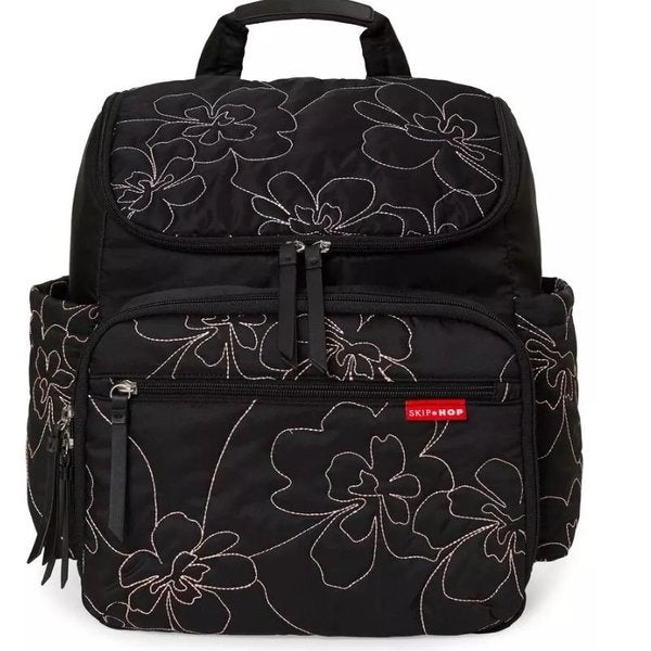 Forma Backpack Diaper Bag - Floral Stitch