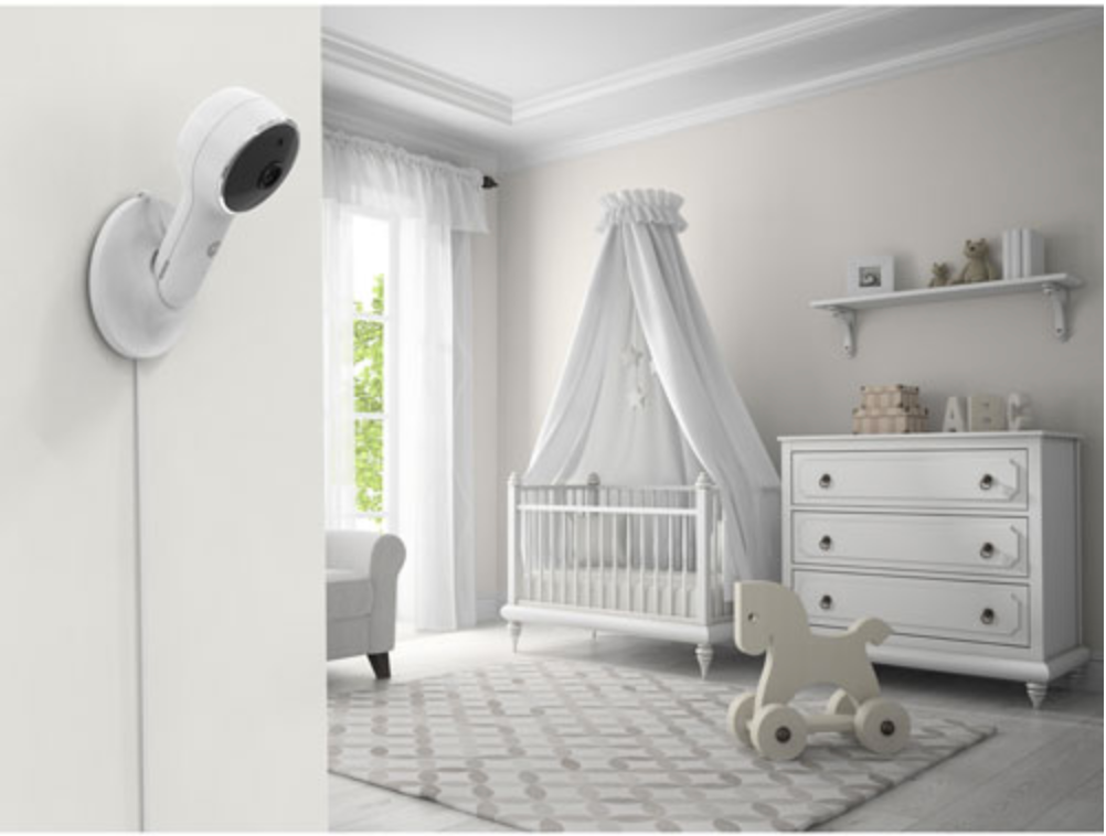 "Lux65CONNECT 5"" Baby Monitor with Night Vision and Zoom/Pan/Tilt"